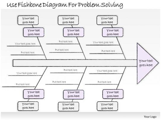 0314 business ppt diagram use fishbone diagram for problem. Black Bedroom Furniture Sets. Home Design Ideas