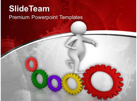 Mechanical Engineering Background Powerpoint Templates And