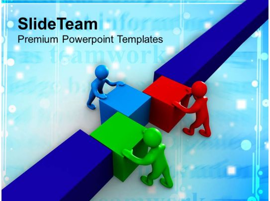 powerpoint template 3d monster - photo #26