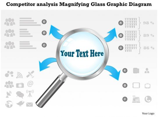 0414 Business Consulting Diagram Competitor Analysis