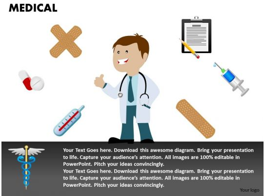 0514 3d Graphic Of Medical Symbols And Doctor Medical Images For