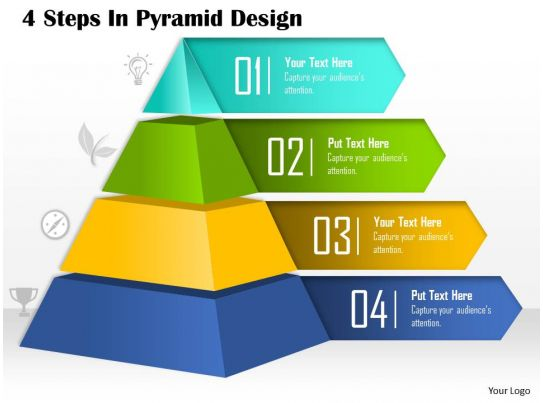 0514 4 steps in pyramid design powerpoint presentation powerpoint