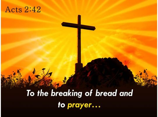 What Does the Bible Say About Breaking Bread?