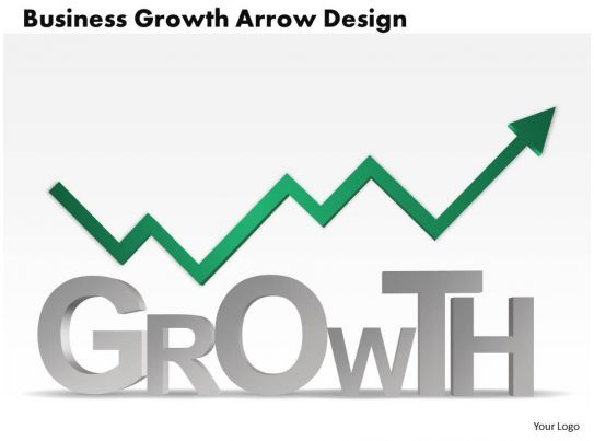 0514 Business Consulting Diagram Business Growth Arrow ...