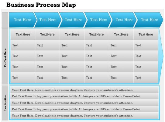 0514 business process mapping template powerpoint presentation for Business process catalogue template