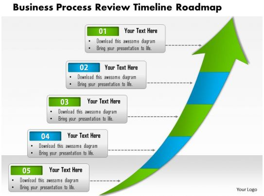 0514 business process review timeline roadmap 5 stage powerpoint slide template powerpoint. Black Bedroom Furniture Sets. Home Design Ideas