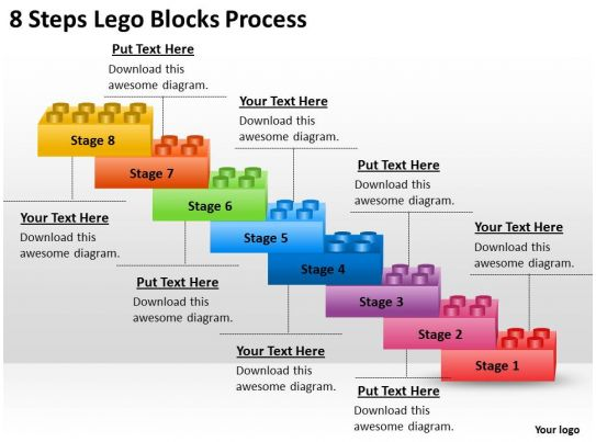 0620 management consulting 8 steps lego blocks process