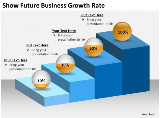 0620 Powerpoint Diagrams Templates Business Growth Rate