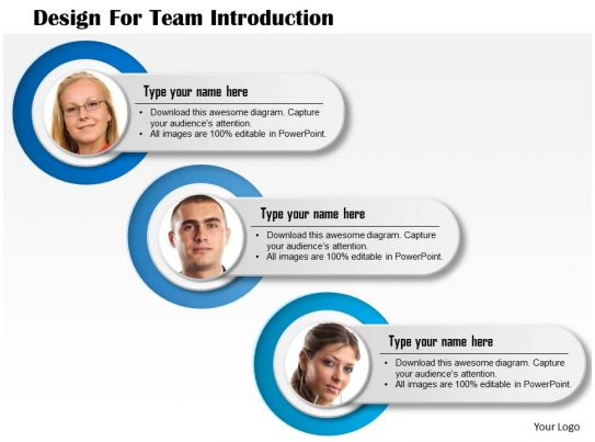0714 Business Consulting Design For Team Introduction