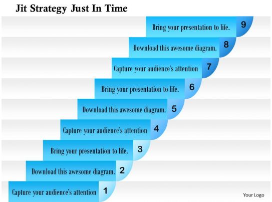 0714 jit strategy just in time powerpoint presentation slide template