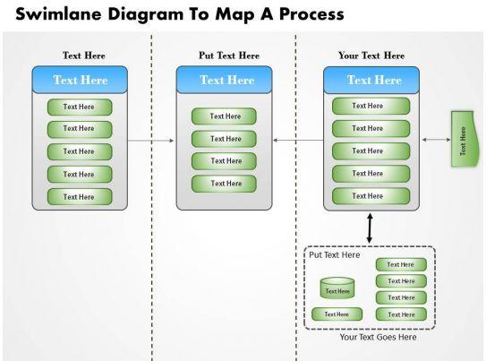 0814 Business Consulting Diagram Swimlane Diagram To Map A