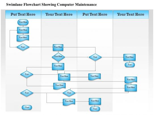 0814 business consulting diagram swimlane flowchart for Swimlane timeline template