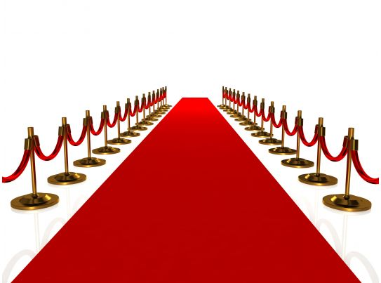 0914 3d Red Carpet Path To Success Stock Photo Templates