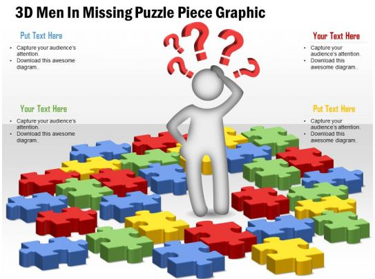 0914 business plan 3d men in missing puzzle piece graphic