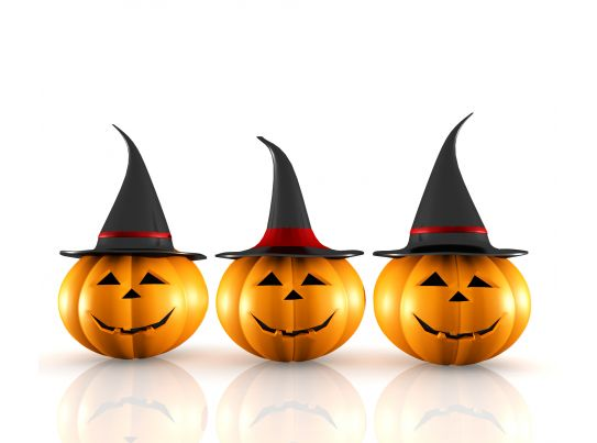 0914 halloween pumpkin on white background image graphic stock photo ppt images gallery - Image de halloween ...