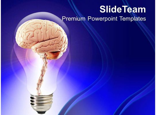 1013 Brain Inside Bulb Creative Powerpoint Templates Ppt Themes And