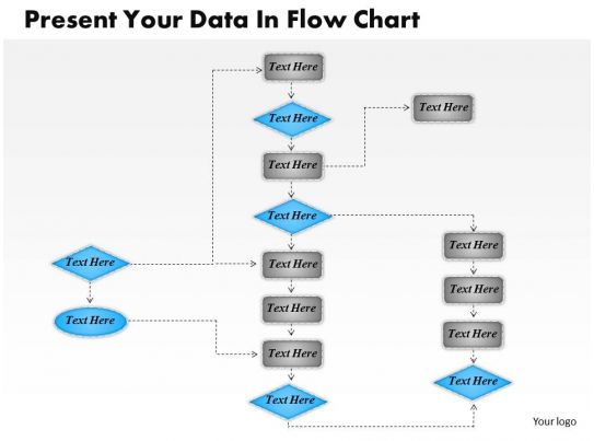 1013 Busines Ppt Diagram Present Your Data In Flow Chart