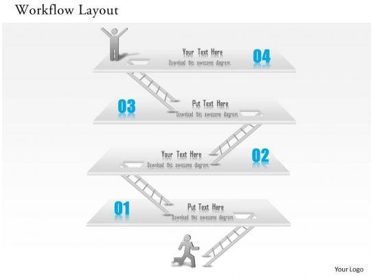 1014 business plan workflow layout achievement success diagram, Achievement Presentation Template, Presentation templates