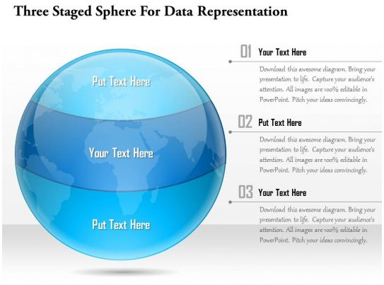 sphere net template - 1114 three staged sphere for data representation