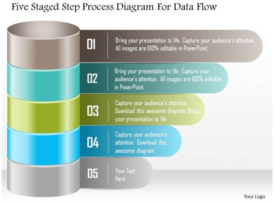 1214 five staged step process diagram for data flow powerpoint 1214 five staged step process diagram for data flow powerpoint template slide01 ccuart Images