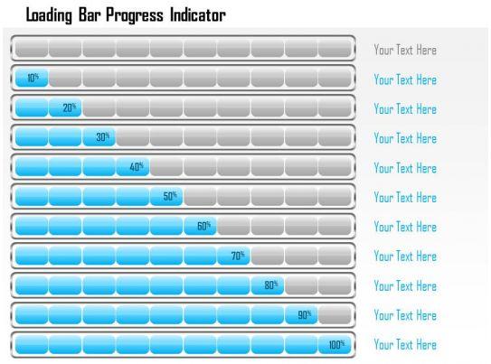1214 Loading Bar Progress Indicator Powerpoint