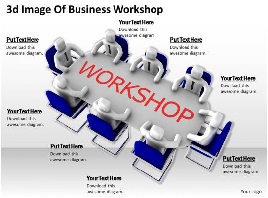 3d Image Of Business Workshop Ppt Graphics Icons