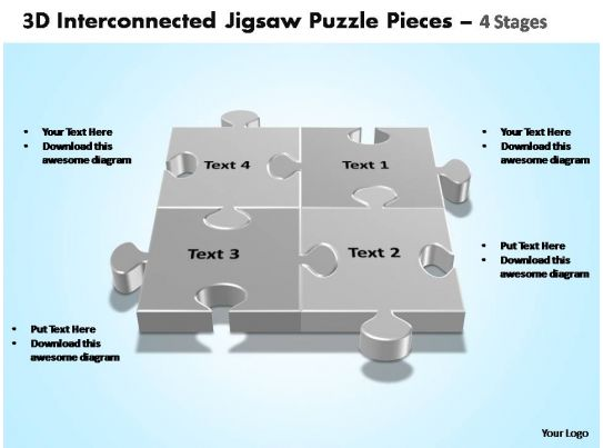 Jigsaw Puzzle Template Jigsaw Puzzle Pieces 4