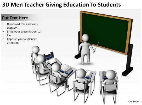 3D Men Teacher ...