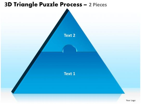 3 Puzzle Pieces 3 Piece Triangle Puzzle