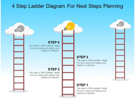 4 step ladder diagram for next steps planning powerpoint step by step maps step by step maps step by step maps step by step maps
