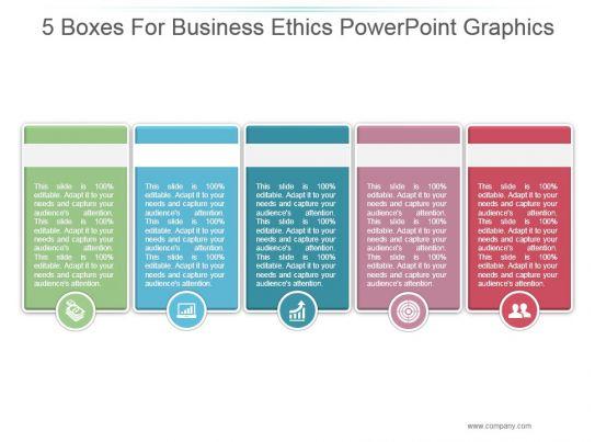 Ppt presentation business ethics