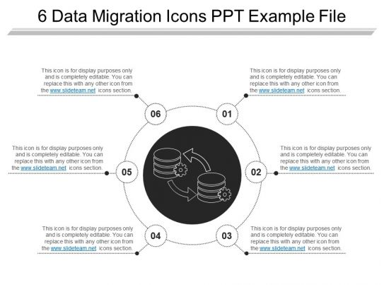 data migration document template - 8423904 style technology 1 storage 6 piece powerpoint