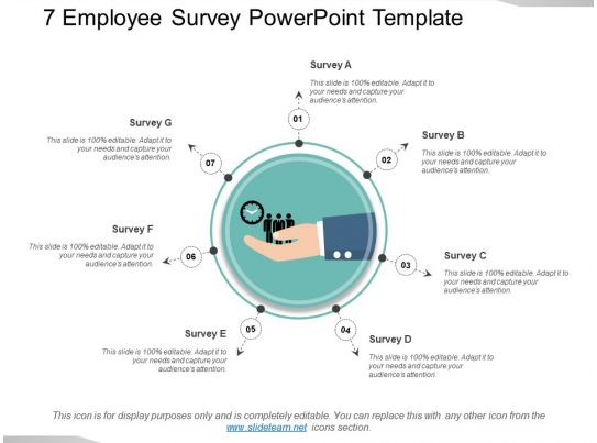 25000 pyramid powerpoint template - survey presentation template