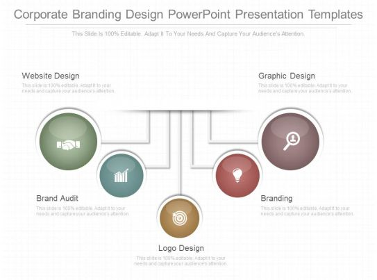 a corporate branding design powerpoint presentation templates. Black Bedroom Furniture Sets. Home Design Ideas