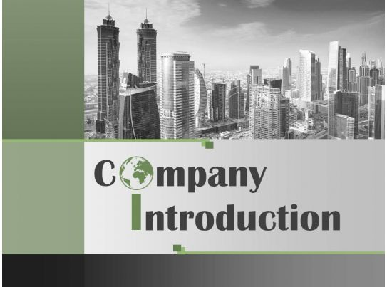 About Our Company Introduction Profile Powerpoint