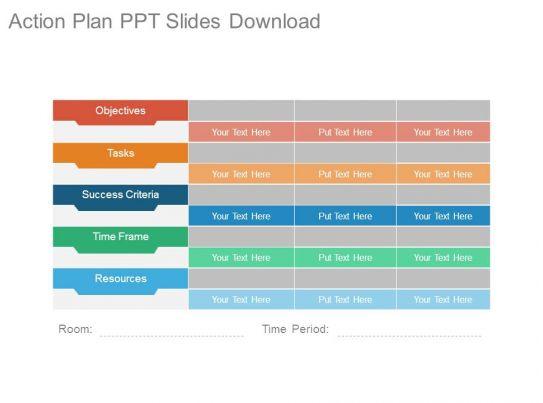 Free business plan presentation template powerpoint