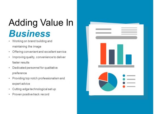 adding value to a product essay Delivering value to customers article actions  start with the purchase price of the reference product and then add improvements in functionality and cost savings .