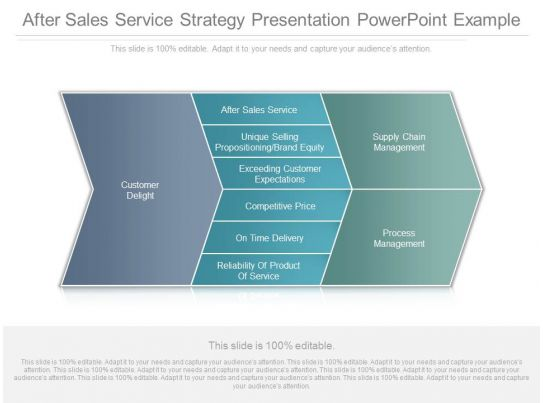 after sales service strategy presentation powerpoint example