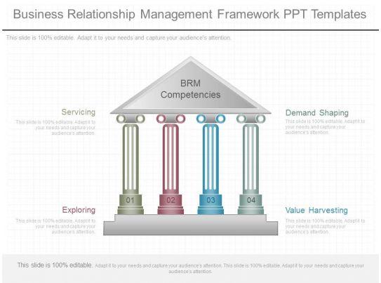 app business relationship management framework ppt