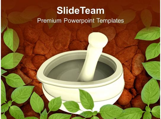 ayurvedic medicine maker powerpoint templates ppt themes and graphics 0513