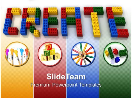 baby building blocks powerpoint templates create word lego business ppt slides. Black Bedroom Furniture Sets. Home Design Ideas