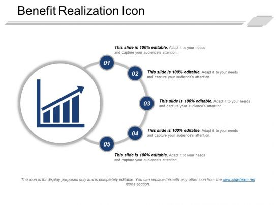 benefits realization plan template - 98315856 style circular semi 5 piece powerpoint