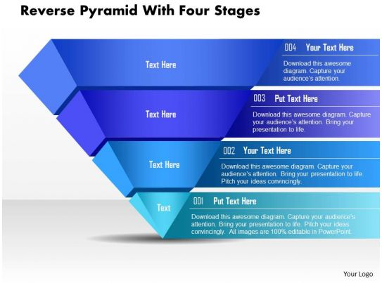 60684738 style layered pyramid 4 piece powerpoint presentation