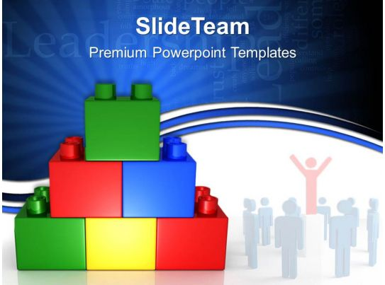 Building blocks math powerpoint templates business for Math powerpoint templates free download