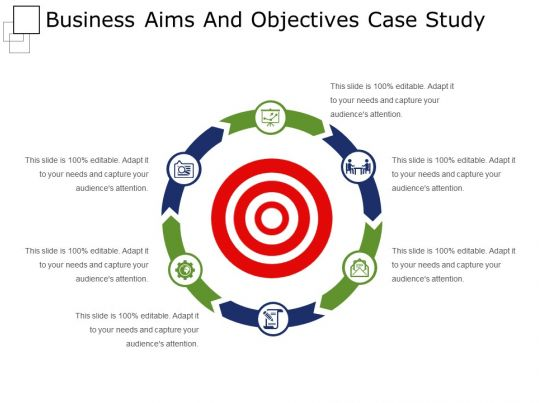 Business Aims And Objectives Case Study Powerpoint Layout ...