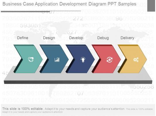 business case application development diagram ppt samples templates powerpoint presentation. Black Bedroom Furniture Sets. Home Design Ideas