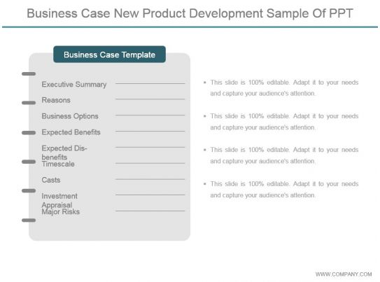 Business case new product development sample of ppt powerpoint business case new product development sample of ppt powerpoint templates backgrounds template ppt graphics presentation themes templates accmission Image collections