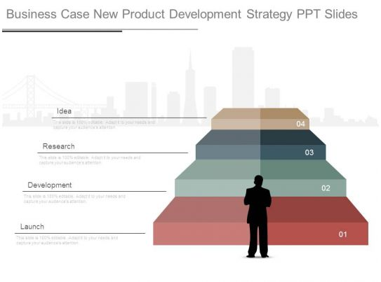 Business case new product development strategy ppt slides for Product design business