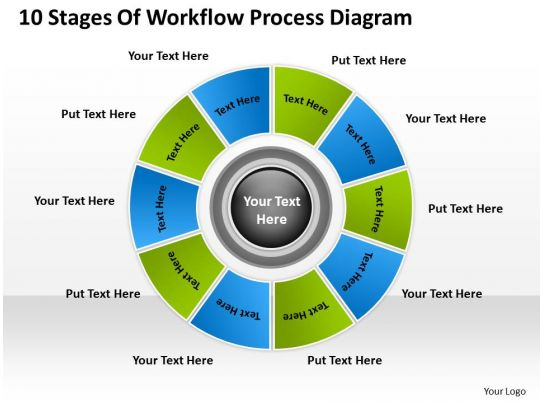 Business Context Diagram Workflow Process Powerpoint