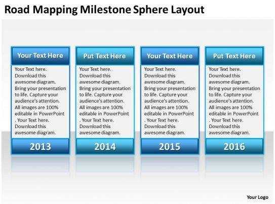 milestone chart templates powerpoint - milestone ppt gallery